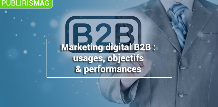 Marketing digital B2B usages-objectifs-et-performances