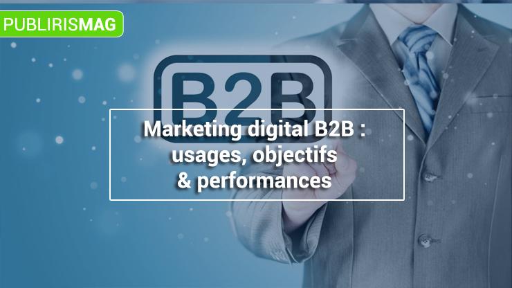 Marketing digital B2B usages-objectifs-et-performances