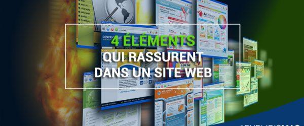 4 éléments qui rassurent dans un site web